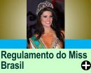 REGULAMENTO DO CONCURSO MISS BRASIL