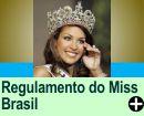 REGULAMENTO DO CONCURSO MISS BRASIL