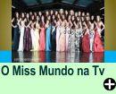 O MISS MUNDO NA TV