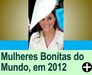AS 10 MULHERES MAIS BONITAS DO MUNDO, EM 2012