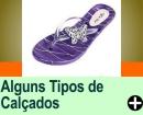 ALGUNS TIPOS DE CALÇADOS