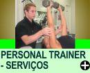 PERSONAL TRAINER - SERVIÇOS OFERECIDOS