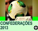 A BOLA E A TABELA DA COPA DAS CONFEDERAÇÕES 2013