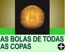 AS BOLAS DE TODAS AS COPAS DO MUNDO