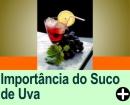 A IMPORTÂNCIA DO SUCO DE UVA
