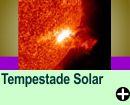 TEMPESTADE SOLAR NÃO CAUSARÁ PROBLEMAS NA TERRA, AFIRMA NASA