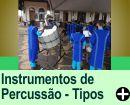OS TIPOS DE INSTRUMENTOS DE PERCUSSÃO