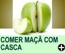 COMER MAÇÃ COM CASCA MULTIPLICA SEUS BENEFÍCIOS À SAÚDE