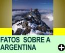 FATOS CURIOSOS SOBRE A ARGENTINA