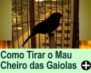COMO TIRAR O MAL CHEIRO DE GAIOLAS