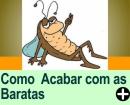 COMO ACABAR COM AS BARATAS