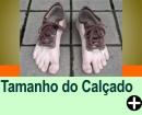 MEDIDA DO PÉ X TAMANHO DO CALÇADO