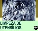 LIMPEZA DE UTENSÍLIOS