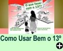 COMO USAR BEM O 13º SALÁRIO