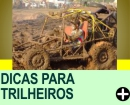 DICAS PARA TRILHEIROS