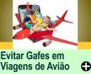 COMO EVITAR GAFES EM VIAGENS DE AVIÃO