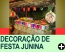 DECORA��O DE FESTA JUNINA