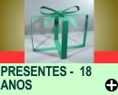 PRESENTES PARA FESTAS DE 18 ANOS