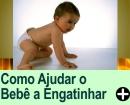 Como Ajudar o Bebê a Engatinhar