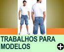 OPÇÕES DE TRABALHOS PARA MODELOS