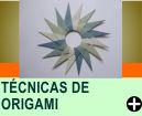DICAS E T�CNICAS DE ORIGAMI