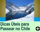DICAS ÚTEIS PARA PASSEAR, NO CHILE
