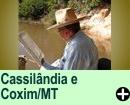 Cassilândia e Coxim/MG