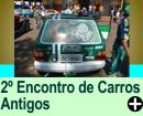 2º ENCONTRO DE CARROS ANTIGOS, EM SANTA CRUZ DAS PALMEIRAS/SP