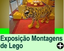 Exposição Montagens de Lego