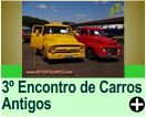 3º Encontro de Carros Antigos, em Sta. Cruz das Palmeiras/SP