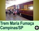 Passeio de Trem Maria Fumaça, campinas/SP