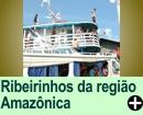 Ribeirinhos, região Amazônica