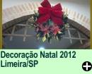 Decora��o Natal 2012 Limeira/SP