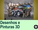 DESENHOS E PINTURAS 3D