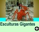 ESCULTURAS E ESTÁTUAS GIGANTES