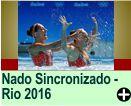 NADO SINCRONIZADO - RIO 2016