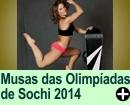 Musas das Olimpíadas de Sochi 2014