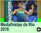 Medalhistas da Olimpíadas Rio 2016