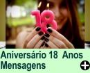 Mensagens para Aniversários de 18 anos