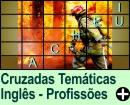 Cruzadas Temáticas de Profissões em Inglês