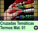 Cruzadas Temáticas de Termos Matemáticos 01