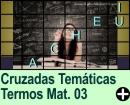 Cruzadas Temáticas de Termos Matemáticos 03