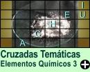 Cruzadas Temáticas de Elementos Químicos 03