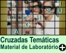 Cruzadas Temáticas de Material de Laboratório