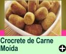 CROCRETE DE CARNE MOÍDA