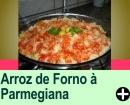 ARROZ DE FORNO À PARMEGIANA