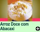 ARROZ DOCE COM ABACAXI