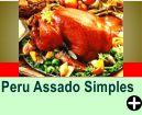 PERU ASSADO SIMPLES