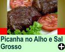 PICANHA NO ALHO E SAL GROSSO