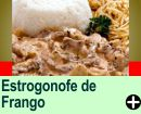 ESTROGONOFE DE FRANGO